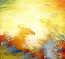 Splash of Colors Oil Painting by Fred Seghetti