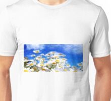 Summer Flowers Oil Painting Unisex T-Shirt