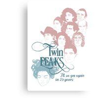 Twin Peaks Scene Canvas Print