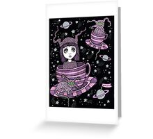 Fifi's Flying Saucers Greeting Card