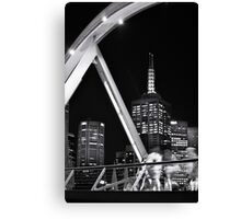 Melbourne night life Canvas Print