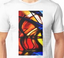 Abstract Colors Oil Painting 93 Unisex T-Shirt
