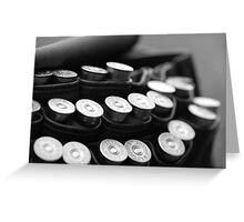 Cartridge Bag Greeting Card