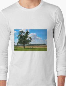 The Apple Tree - HDR Long Sleeve T-Shirt