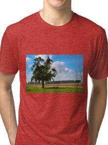 The Apple Tree - HDR Tri-blend T-Shirt