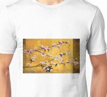 Asian Cherry Blossoms Oil Painting Unisex T-Shirt