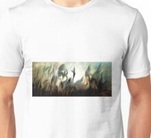 Night Meadow Oil Painting Unisex T-Shirt