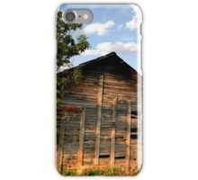 All Alone on the Stark Prairie iPhone Case/Skin