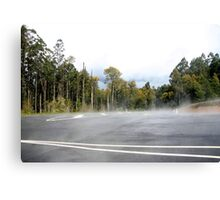 T - Intersection Canvas Print