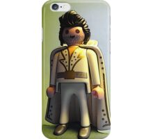 Elvis has left the building! iPhone Case/Skin