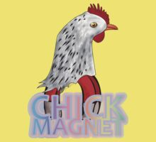 Caus' Imma Chick Magnet by SCdesigns