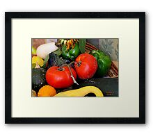 """"""" A Couple of Tomatoes """" Framed Print"""