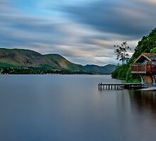 Boat House Portland  by Roger Green