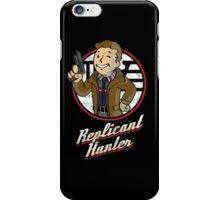 Replicant Hunter iPhone Case/Skin