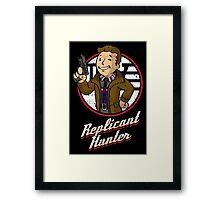 Replicant Hunter Framed Print