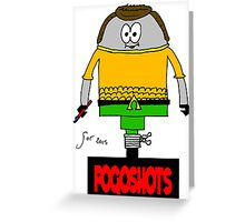 Scott Cosby Pogoised Greeting Card