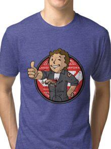Alien on Board (sticker) Tri-blend T-Shirt