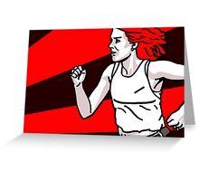 'Run!' Greeting Card