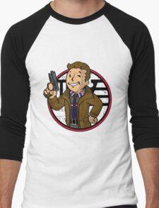 Replicant Hunter (sticker) Men's Baseball ¾ T-Shirt