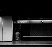 Barcelona's Metro - 2009 by Luca Tranquilli