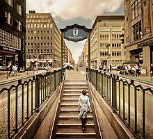Berlin - Urban Core | 01 by Frank Waechter