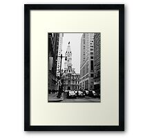 Philadephia PA City Hall  Framed Print