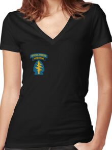 Special Forces Women's Fitted V-Neck T-Shirt
