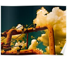 Cloud Manufacturing Machinery Poster