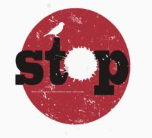 Stop! by sledgehammer