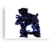 Pokemon Blastoise water fracture Canvas Print