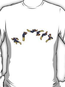 Captain Falcon Frames T-Shirt
