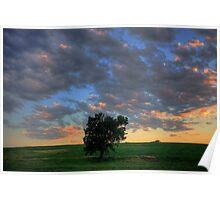 Nebraska Sky 3 Poster