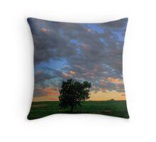 Nebraska Sky 3 Throw Pillow