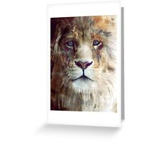 Lion // Majesty Greeting Card