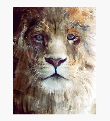 Lion // Majesty Photographic Print