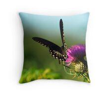 Summertime Sip Throw Pillow