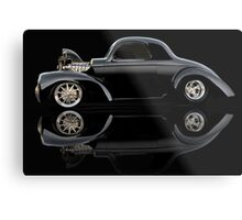 1941 Willys Coupe 'Reflection of Life' Metal Print