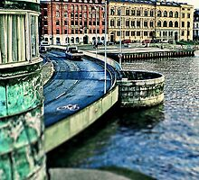 Copenhagen City View by Tim Constable. by TimConstable