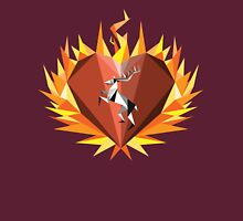The Flaming Heart Unisex T-Shirt