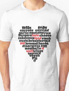 Love Food love heart T-Shirt