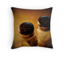 Salt & Pepper Throw Pillow