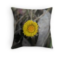 Little - Yellow - Different Throw Pillow