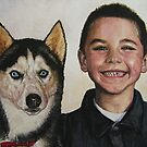 Animal and People Portrait by Jim Parker