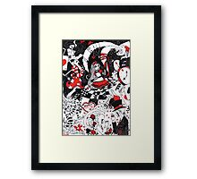 Alice in Freakingland Framed Print