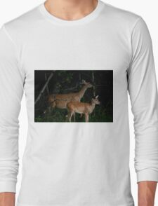 Look What's Lurking in the Woods Tonight!!! Long Sleeve T-Shirt