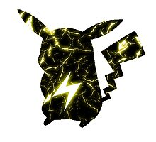 Pokemon Pikachu electric fracture by jct500