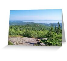 Acadia National Park Greeting Card