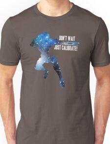 Mass Effect Silhouettes, Garrus - Don't Wait, Just Calibrate! Unisex T-Shirt