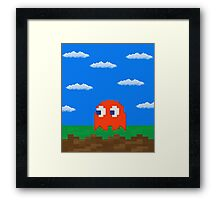 Blinky's 2D World Framed Print