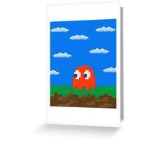 Blinky's 2D World Greeting Card